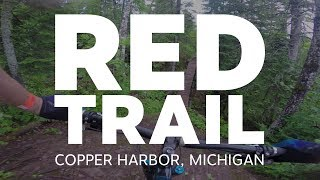 Red Trail in Copper Harbor MI
