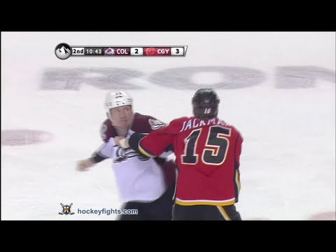 Tim Jackman vs. Cody McLeod