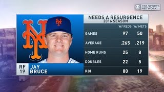 Boomer and Carton: Mets name Jay Bruce as starting right fielder
