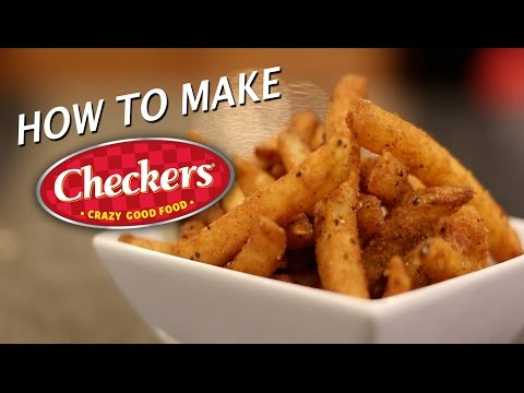 DIY Checkers / Rally's French Fries
