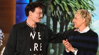 Johnny Depp on Ellen Show