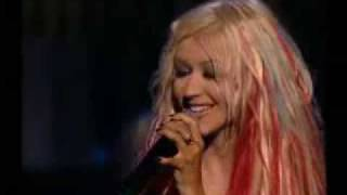 Christina Aguilera Contigo en la distancia LIVE Mi Reflejo