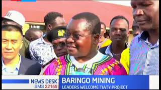 Baringo County welcomes a Chinese diatomite mining company