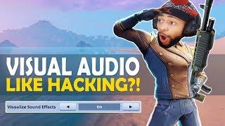 VISUAL AUDIO LIKE HACKING IN FORTNITE!?