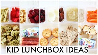 Lunch Ideas for KIDS + What They Ate | Preschool + 1st grade Grade