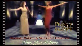 Mariah Carey & Whitney Houston - When You Believe (NBC's Church Version)