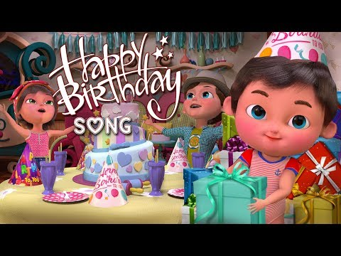 Download Happy Birthday Song | Kids Party Songs & Nursery Rhymes | Best Birthday Wishes & Songs Collections HD Mp4 3GP Video and MP3