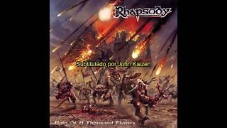 Rhapsody - The Poem's Evil Page (Lyrics & Sub. Español)