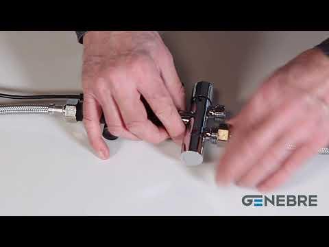 Serie Klin, la nueva gama de grifos electrónicos con sensor para baño de Genebre