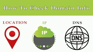 How To Find Domain Owner Information | How To Check Domain DNS Details | Find Server Ip Location
