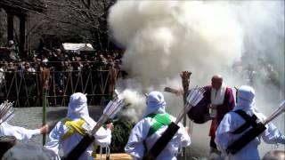 雨引観音マダラ鬼神祭2012