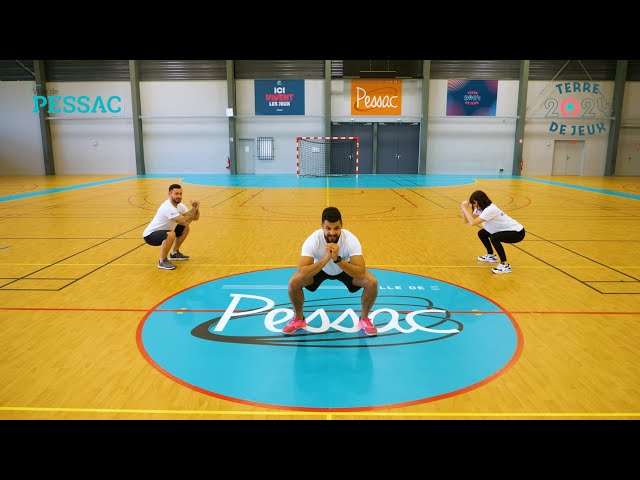 #BougeChezToi avec la Ville de Pessac - Renforcement musculaire#2