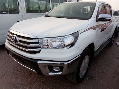 Toyota Hilux 2016 Petrol Full Option In Dubai