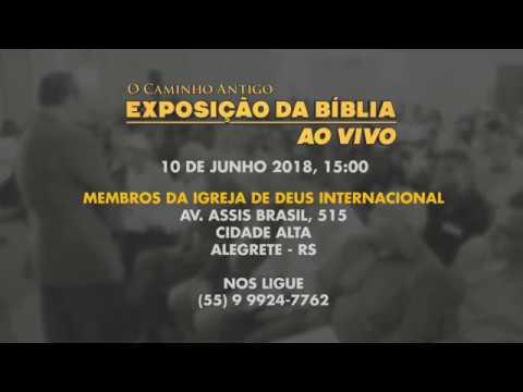 O Caminho Antigo - Exposição da Bíblia em Alegrete, RS