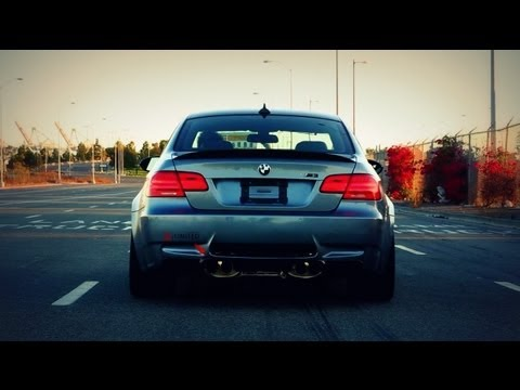 BMW M3 E92 Loud Acceleration! iPE Innotech Performance Exhaust!