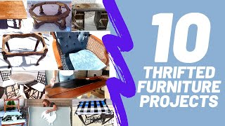 10 Thrifted And Trash To Treasure Furniture Makeovers