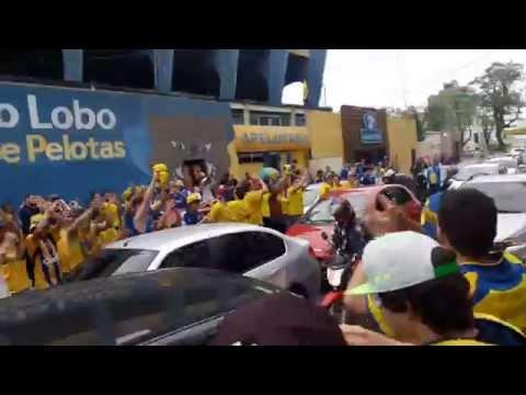 """""""Pingos de Amor - Torcida do Pelotas - Final Copa Luiz Fernando Costa - 22/10/15"""" Barra: Unidos por uma Paixão • Club: Pelotas"""