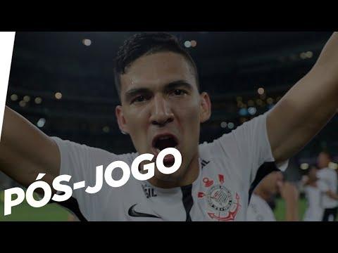 Veja a comemoração dos jogadores do Corinthians no Allianz Parque