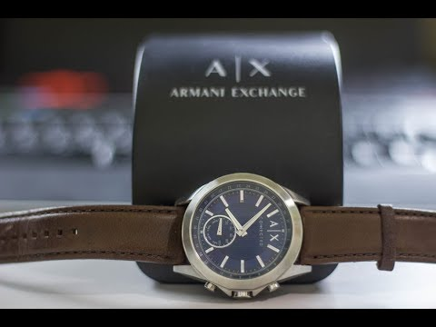 Análisis: Armani Exchange Connected, esfera analógica, conectividad y diseño elegante.