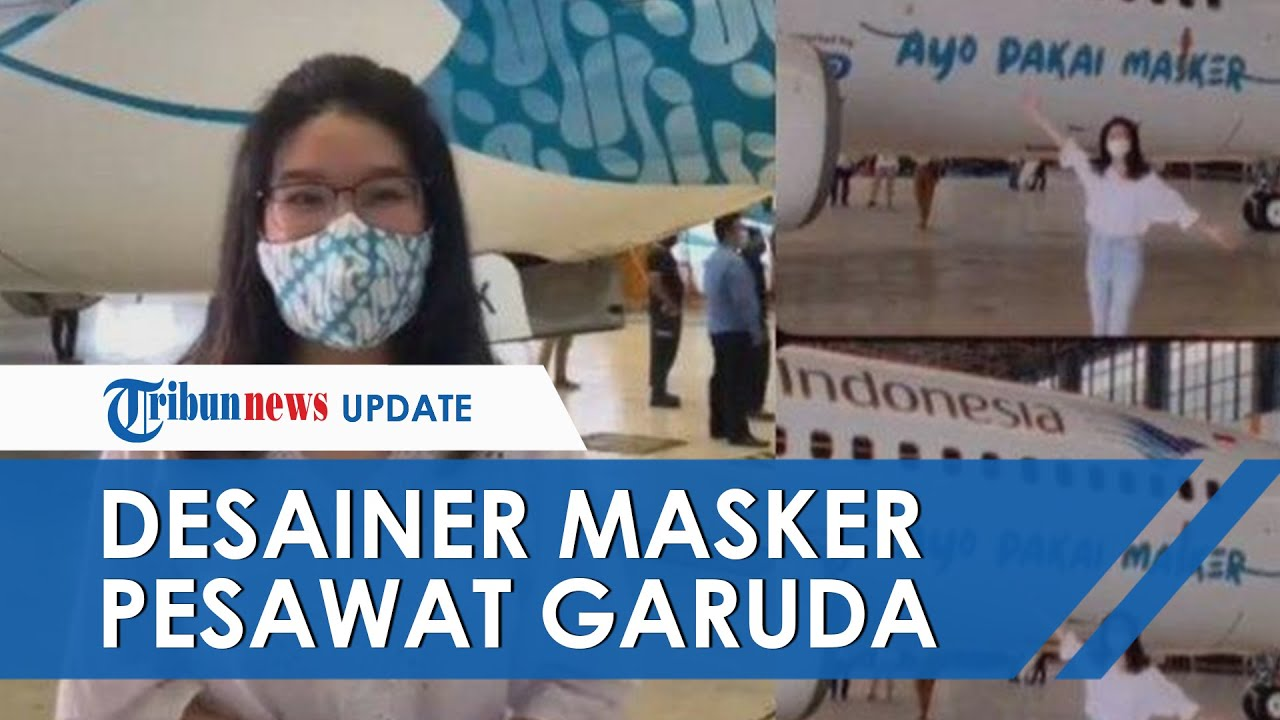 Helena, Sosok Desain Masker Moncong di Pesawat Garuda ...