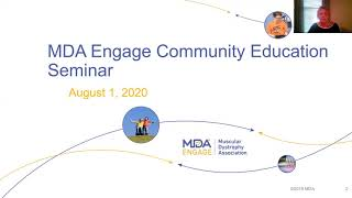 MDA Engage YouTube Community Education Seminar - Featuring Speakers from the Northwest