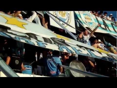 """La Barra de Los Trapos Atlético Rafaela partido vs. Vélez 1"" Barra: La Barra de los Trapos • Club: Atlético de Rafaela"