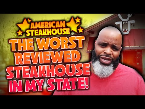 Daym Drops: Eating At The WORST Reviewed STEAKHOUSE Restaurant In My State