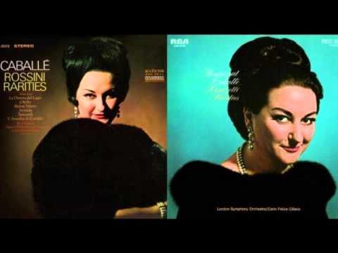 Montserrat Caballe. L'ora fatal s'apressa. L'Assedio di Corinto. Rossini.