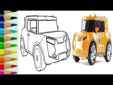 Cara Menggambar Tobot Y | Tobot Y