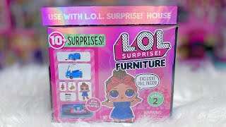 LOL Surprise Furniture Series 2 Can Do Baby Road Trip Unboxing
