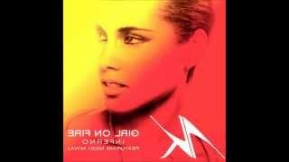Alicia Keys ft. Nicki Minaj - Girl on fire (Inferno Version) (instrumental) (lyrics in description)