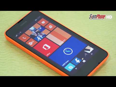 Nokia Lumia 630 with Windows Phone 8.1
