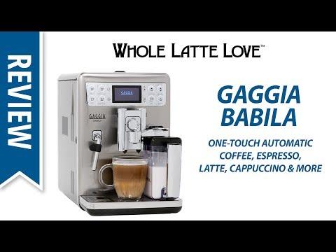 , Gaggia RI9700/64 Babila Espresso Machine, Stainless Steel