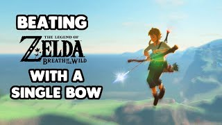 Beating Breath of the Wild with a Single Bow