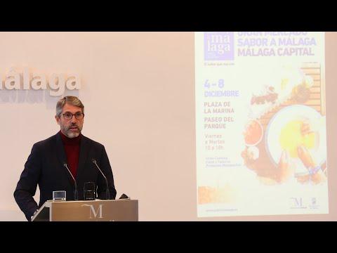 Presentación del Gran Mercado Sabor a Málaga
