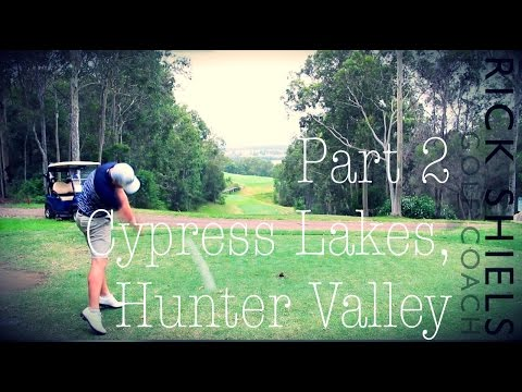 Cypress Lakes GC, Hunter Valley in Australia Part 2