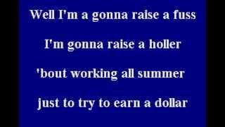 Alan Jackson - Summertime Blues - Karaoke