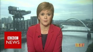 What if UK PM refused to allow another Scottish referendum? BBC News
