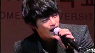 12.09.26  덕성여대 운현방송제 - 멘트 & 사랑해U (서인국 - Seo In Guk)