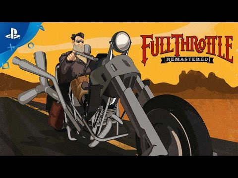 Full Throttle Remastered - PSX 2016: First Look Trailer | PS4 thumbnail