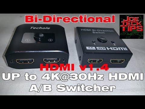 HDMI Switch 4K HDMI Splitter | JoeteckTips