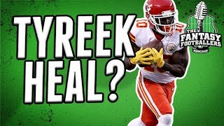 Tyreek Hill Injury | Waiver Wire Strategy