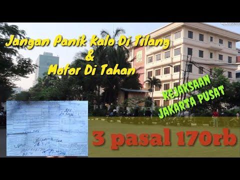 CARA MENGURUS SURAT TILANG JAKARTA PUSAT TGL 25 JAN 2019