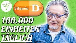 Vitamin D - Was passiert, wenn Du 100.000 Einheiten täglich einnimmst…