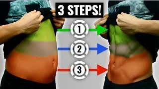 How To Lose Stubborn Belly Fat In 3 Steps (And How Long It Will Take You)