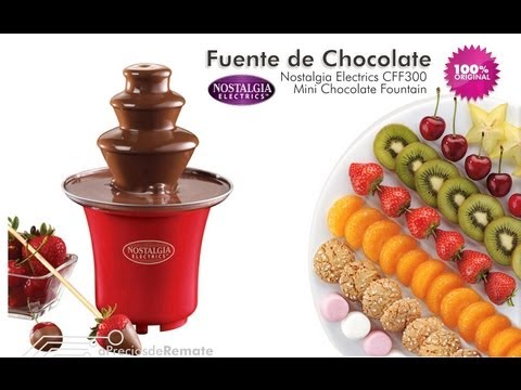 Mini Fuente de Chocolate Nostalgia