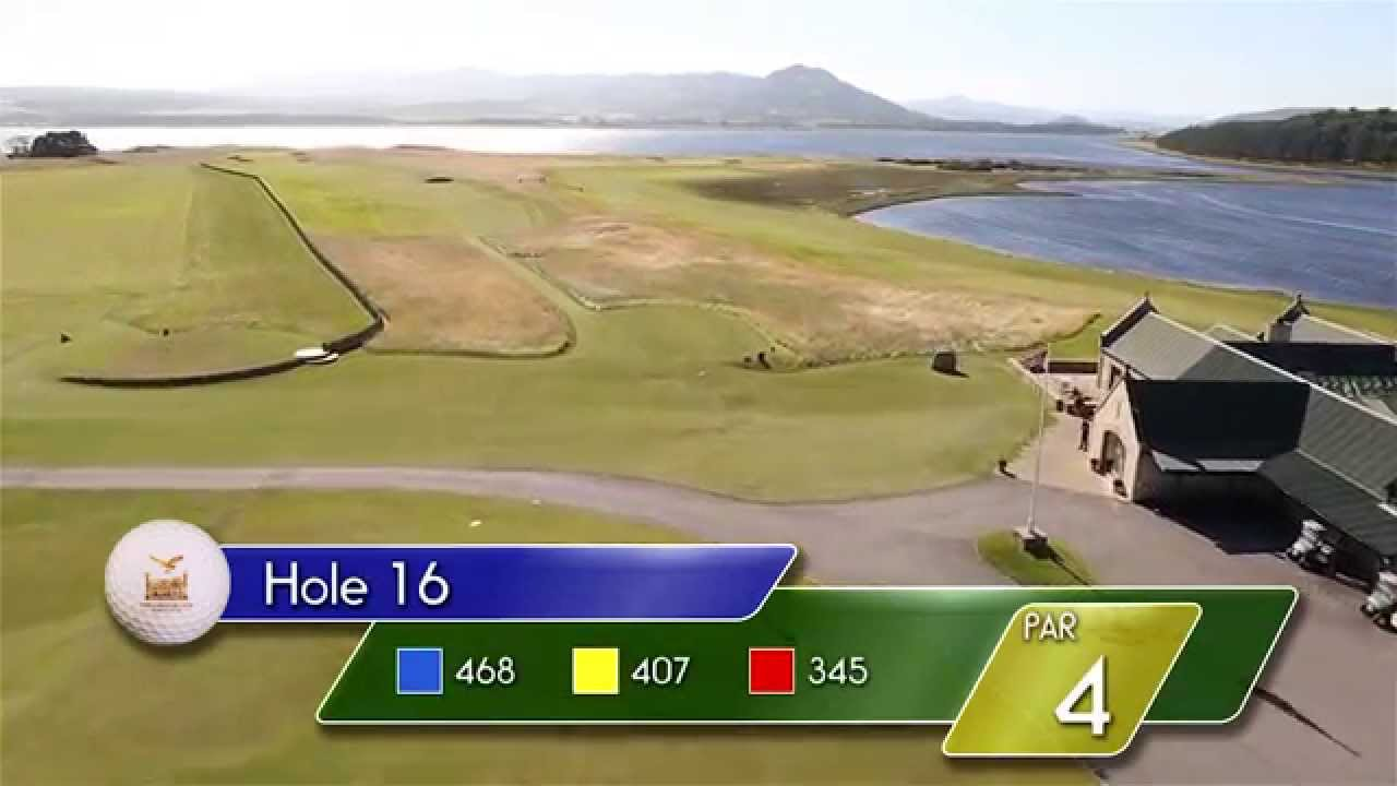 Carnegie Links Hole 16 - YouTube video