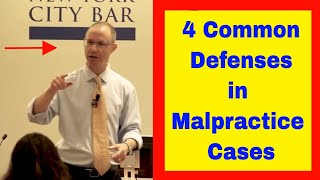4 Common Defenses We See in Medical Malpractice Cases; NY Attorney Gerry Oginski Explains