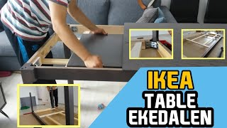 Ekedalen Extendable Table Assembly मफत ऑनलइन