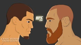 UFC 196 animated promo, Conor Mcgregor vs Nate Diaz